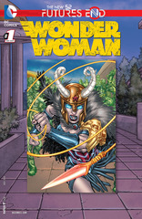 Futures End Wonder Woman Lenticular Cover