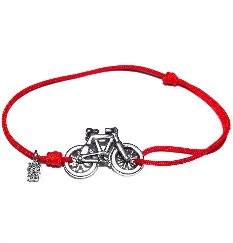 Bicycle Bracelet, Sterling Silver