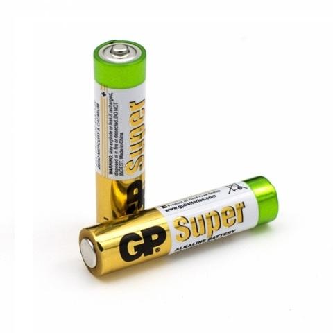 Батарейки GP ААА/LR03 1,5V, 2шт. в блистере (мизинчик)