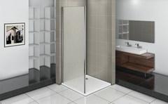 Душевое ограждение (боковая часть) Good Door INFINITY SP-90-G-CH 90 см