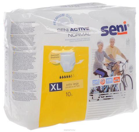 Впитывающие трусы SENI ACTIVE Normal Extra Large, 10 шт./уп.