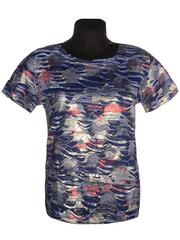 3306-1-4 футболка женская, синяя