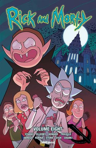 Rick and Morty. Let The Rick One In. Signed by Marc Ellerby