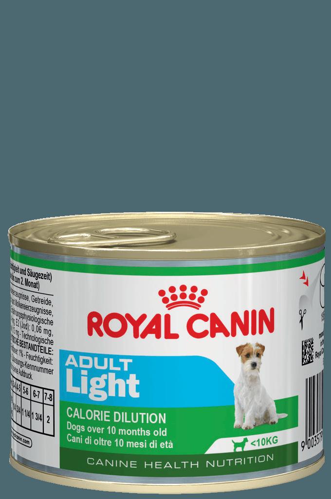 Royal Canin Консервы для собак, Royal Canin Adult Light, предрасположенных к полноте 779002.png