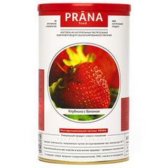 Коктейль, PRANA food, Клубника Банан, 600/450 гр