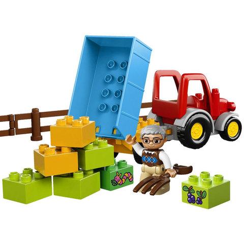LEGO Duplo: Сельскохозяйственный трактор 10524 — Farm Tractor — Лего Дупло