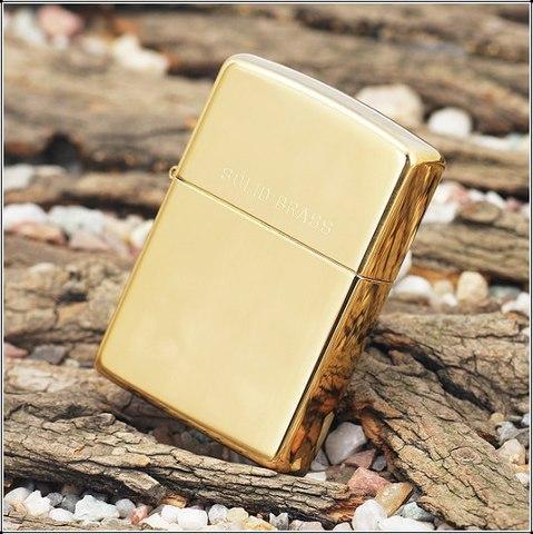 ZIPPO 254 High Polish Brass