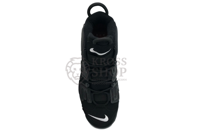 Nike Supreme Men's Air More Uptempo Black