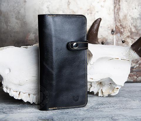 Портмоне ручной работы из натуральной кожи. «Boroda Design»