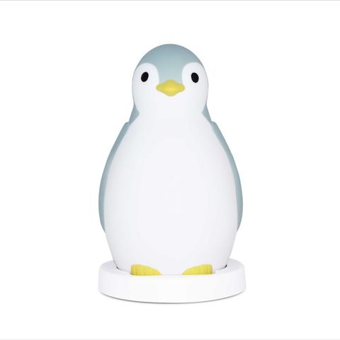 Беспроводная колонка+будильник+ночник пингвинёнок Пэм Синий 0+