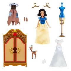 Игровой Набор мини кукла Белоснежка с Гардеробом - Белоснежка и семь гномов, Disney