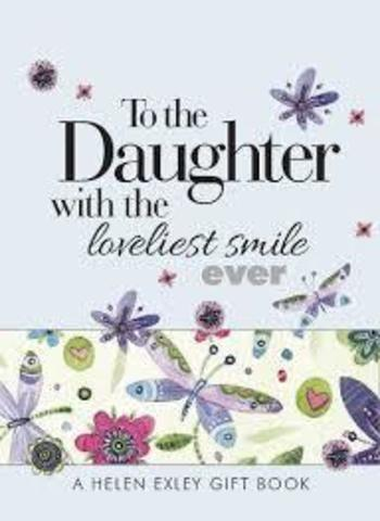 Açıqca To the Daughter with the loveliest smile