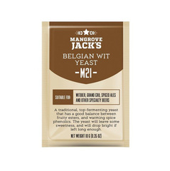 Дрожжи Mangrove Jack's Belgian Wit M21, 10 гр