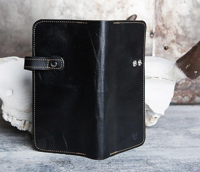WB111-6 Портмоне ручной работы из натуральной кожи. «Boroda Design» фото 03
