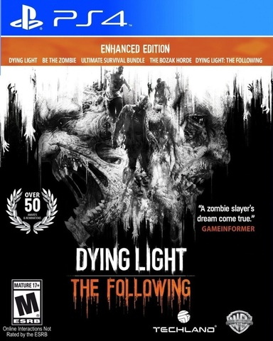 PS4 Dying Light. The Following. Расширенное издание (русские субтитры)