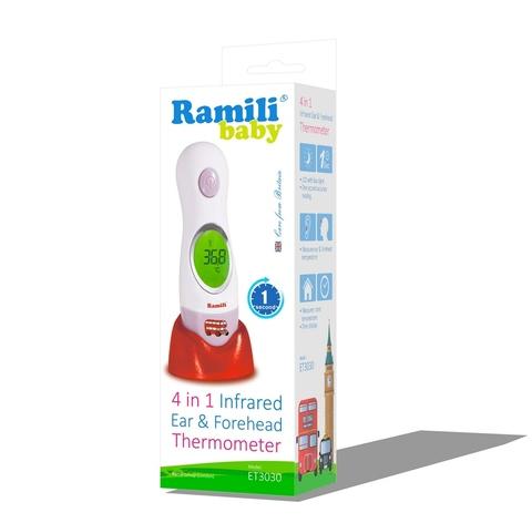 Инфракрасный термометр (4 в 1) Ramili ET3030