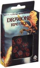 Набор кубиков Dragon Dice Black/Red