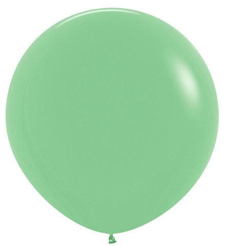 Шар (30''/76 см) Зеленый (030), пастель