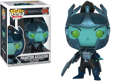 Фигурка Funko POP! Vinyl: Games: Dota 2 S1: Phantom Assassin w/ Sword 30628
