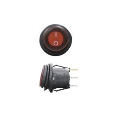 Выключатель двухпозиционный влагозащищённый с индикатором