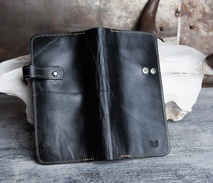 WB111-6 Портмоне ручной работы из натуральной кожи. «Boroda Design» фото 04