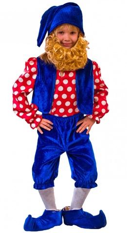 костюм Гномик синий