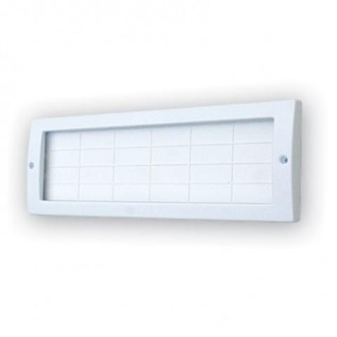 Основа для светового табло (на защелках) с белым свечением Молния-24В
