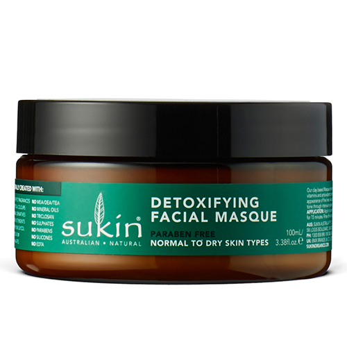Детокс-маска для лица, Sukin