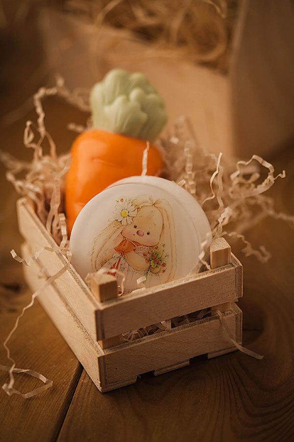 Мыло Морковка. Форма пластиковая
