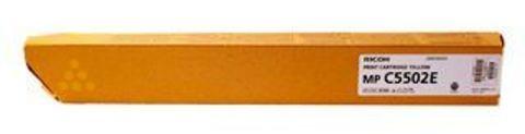 Тонер-картридж Ricoh тип MPC5502E для Aficio MPC4502/C5502, желтый. Ресурс 22500 стр (842021)