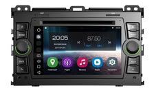 Штатная магнитола FarCar s200 для Toyota Land Cruiser Prado 120 02-09 на Android (V456)