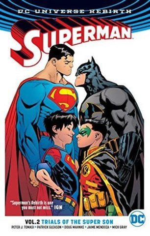 Superman Vol 2 Trials of the Super Son (Rebirth)
