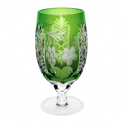 Фужер 450мл Ajka Crystal Grape зеленый