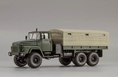 KRAZ-260 1979 green matt 1:43 Nash Avtoprom