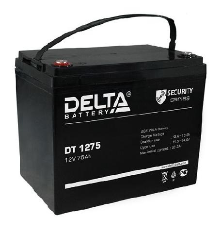 DT 1275 аккумулятор 12В/75Ач Delta
