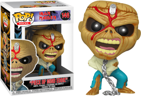 Piece of mind Eddie (Iron Maiden ) Funko Pop! Vinyl Figure || Частица разума Эдди
