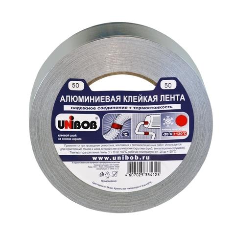 Скотч алюминиевый 40м Unibob