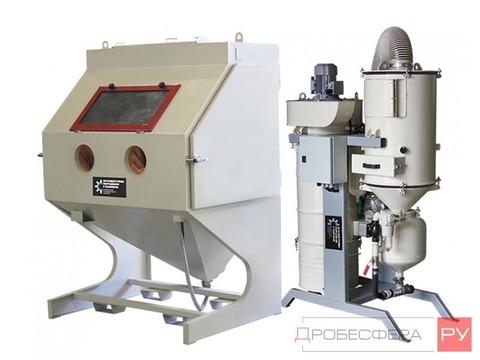Пескоструйная камера КСО-130 НФВРМ с фильтром вентилятором и рекуперацией