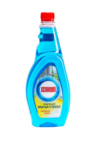 Sellwin Pro  Хозяюшка Средство для мытья стекол Свежий озон 750мл