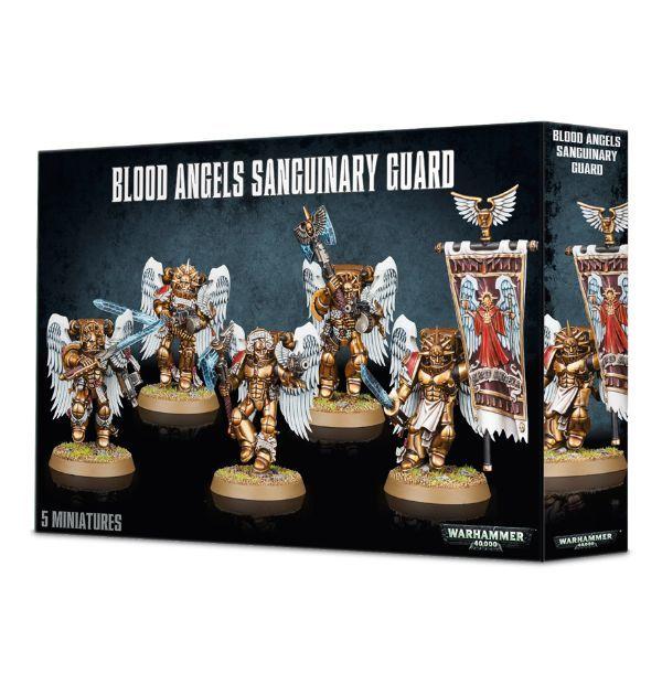 Blood Angels Sanguinary Guard. Коробка