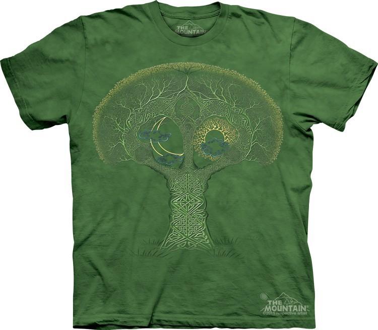Футболка Mountain с изображением кельтского дерева - Celtic Roots