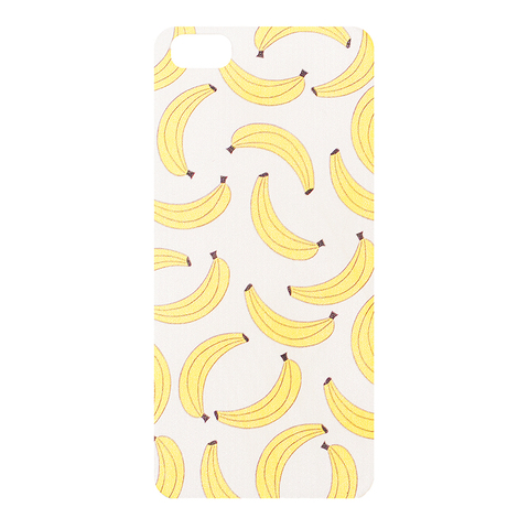 Чехол на IPhone 5/5S White Banana