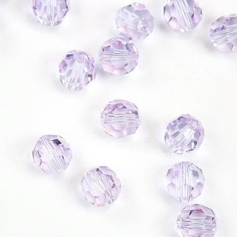 5000 Бусина - шарик с огранкой Сваровски Violet 6 мм