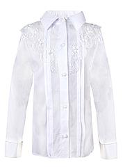0323 блузка детская, белая