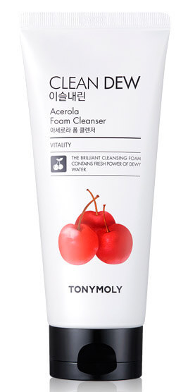 Tony Moly Clean Dew Seed Foam Cleanser