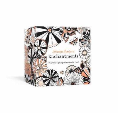 Johanna Basford Enchantments : Colorable Gift Tags with Metallic Cord