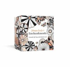 Johanna Basford Enchantments : Colorable Gift Tags with Metallic Cord