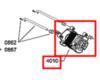 Электродвигатель (мотор) для стиральной машины Whirlpool (Вирпул) 481236158338