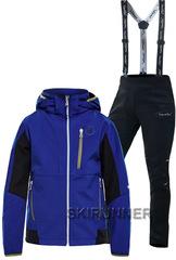 Детский утеплённый лыжный костюм 8848 Altitude Will Blue Nordski Premium 18