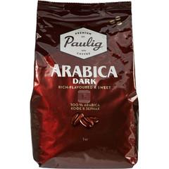 Кофе Paulig Arabica Dark Roast в зернах 1 кг.